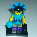 Masters of the Universe Evil Lynn Lego style Minifigure